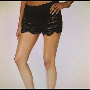 Other - Lace cover up shorts for swim suit